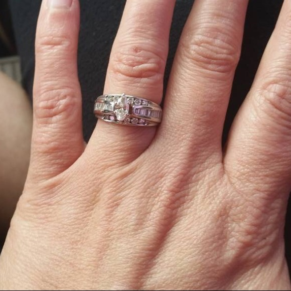 7b4c66834 Kay Jewelers Jewelry | 1k Diamond 14k White Gold Band | Poshmark